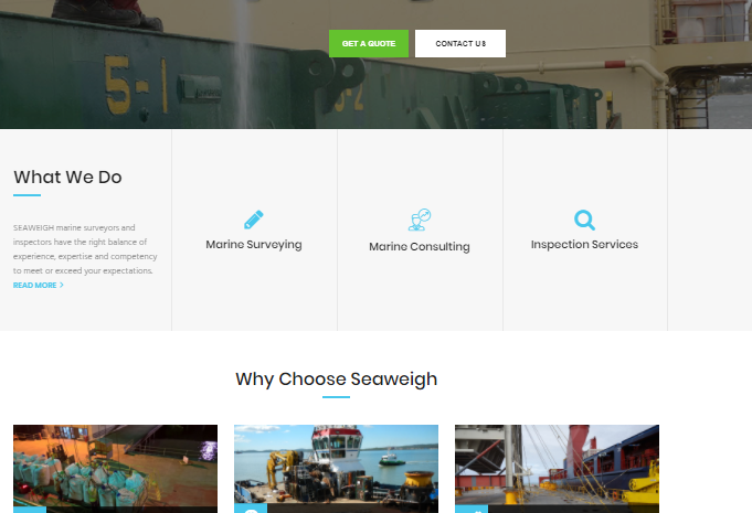 Website – Seaweigh