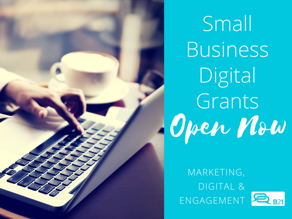 Double your marketing budget with a Small Business Digital Grant