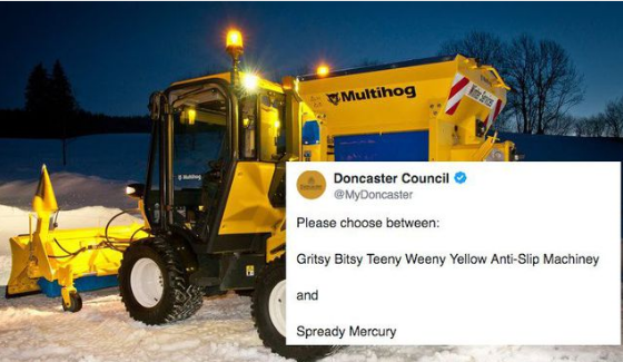 Doncaster Council naming competition