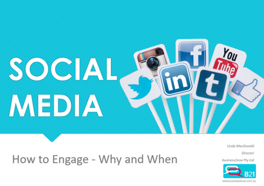 Social Media – How to engage – Where & When