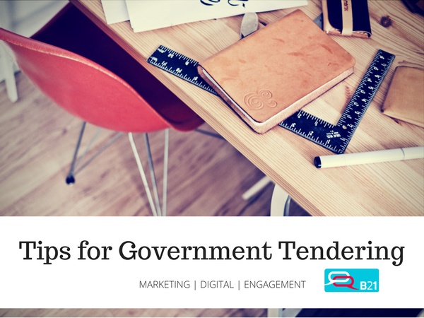 Government Tendering Tips
